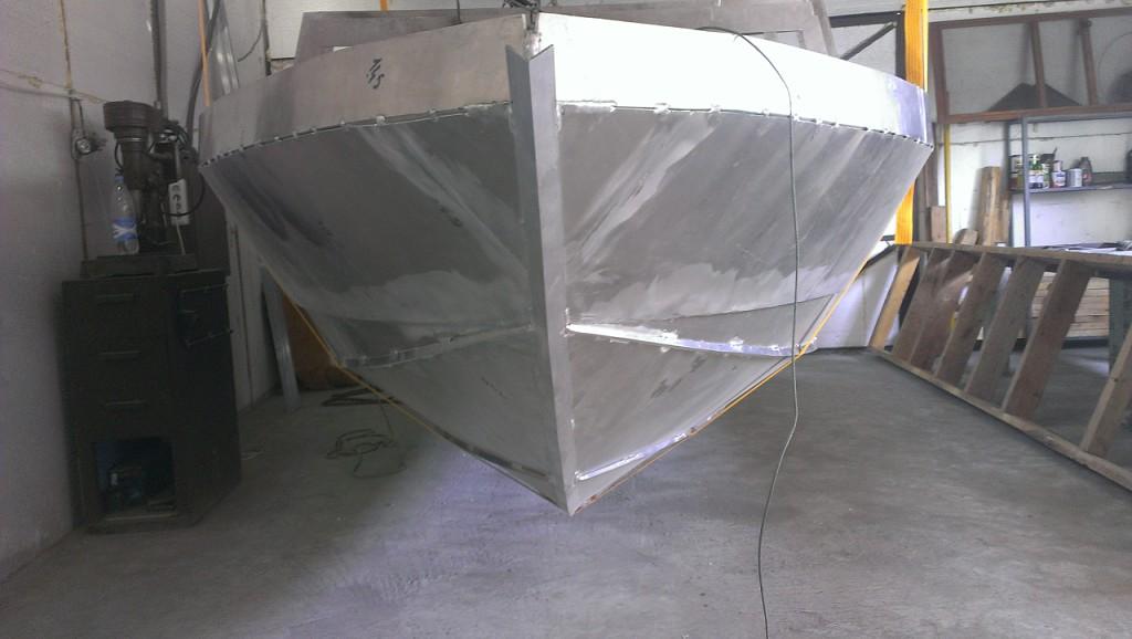 постройка лодок из алюминия