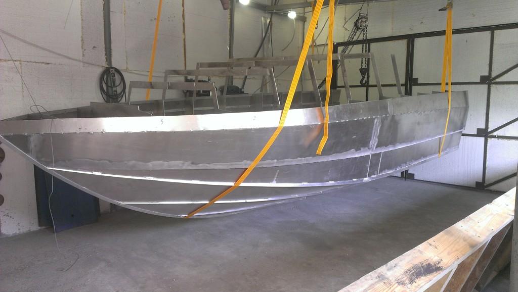 Алюминиевые катера своими руками